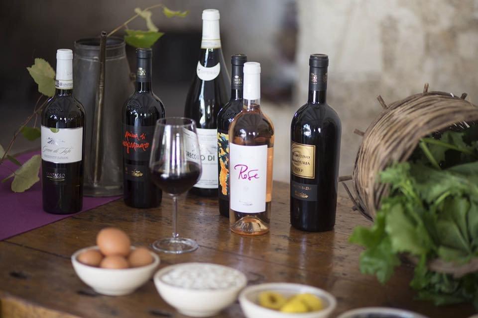 Claudio Quarta wijnen